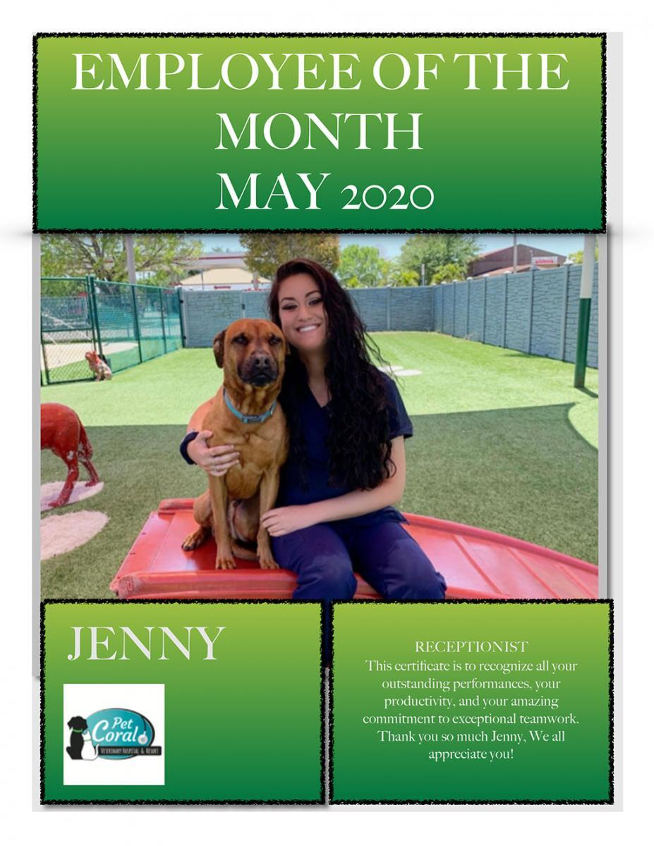 Employee of the Month May 2020